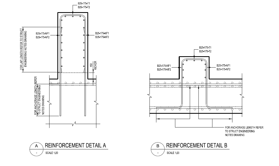 AutoCAD in Rebar Detailing | NS Drafter